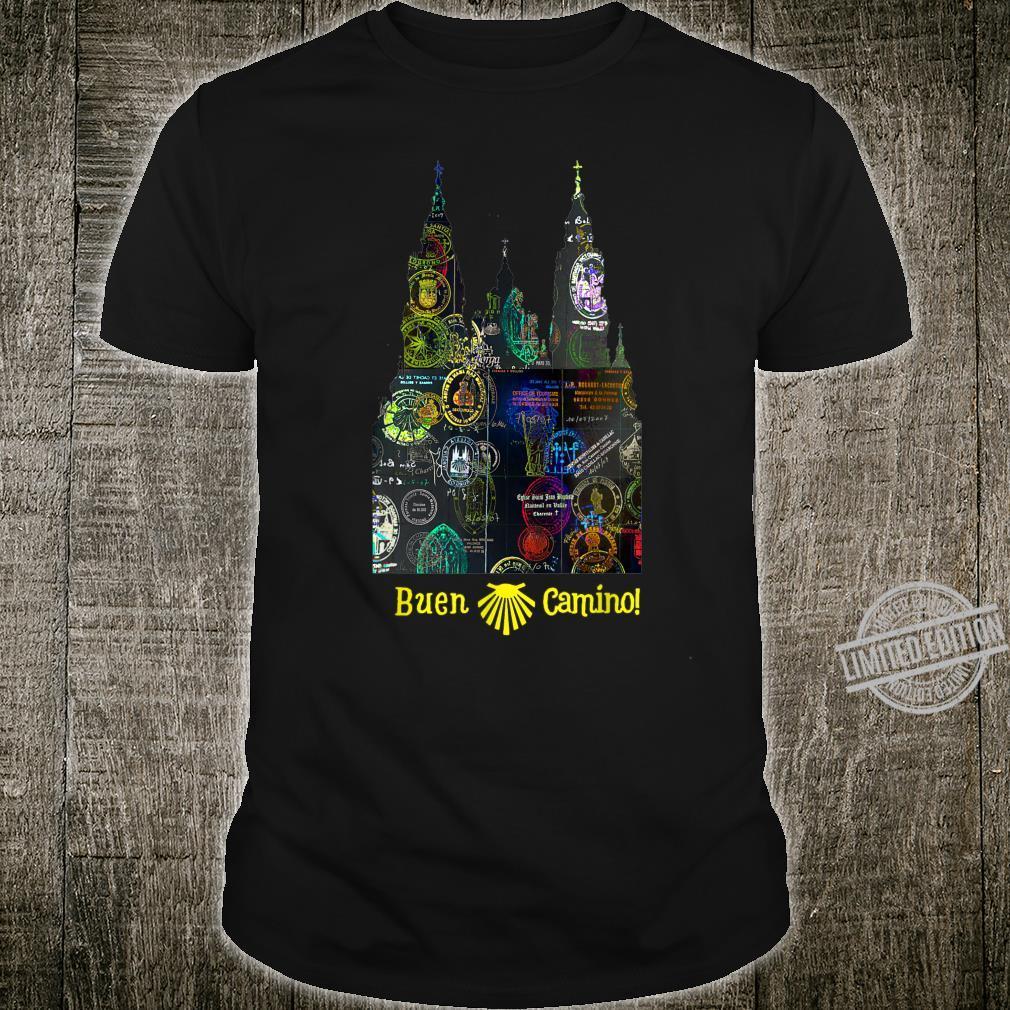 Camino de Santiago de Compostela Pilgrims Way Shirt