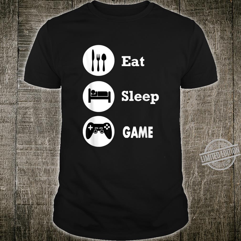 Eat Sleep Game Gamings Shirt