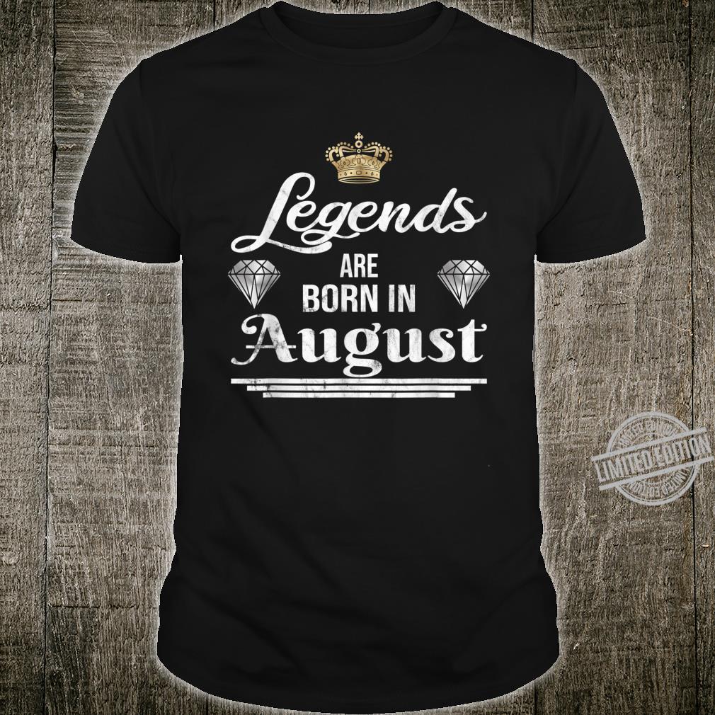Geburtstagsgeschenkidee für Legenden Shirt