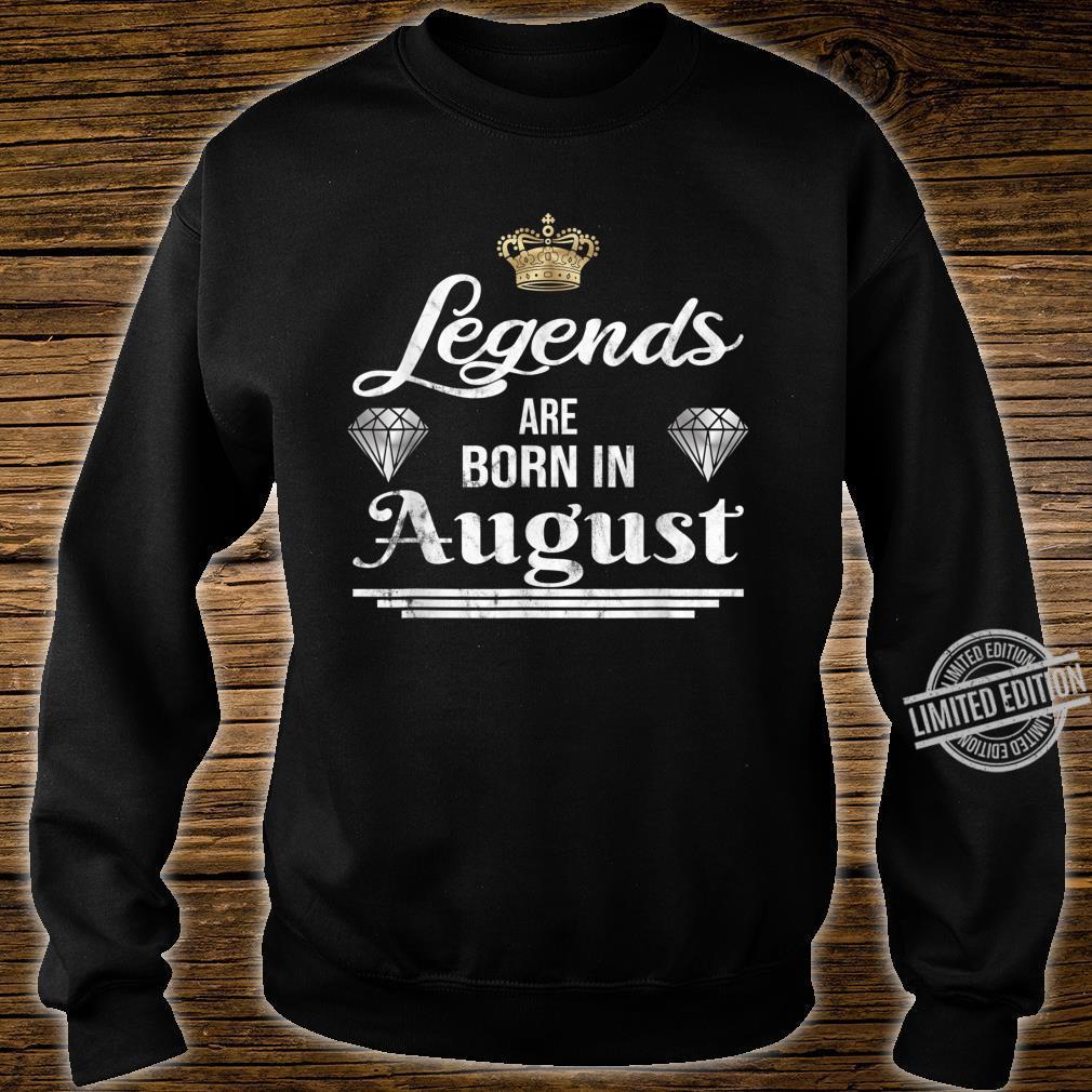 Geburtstagsgeschenkidee für Legenden Shirt sweater