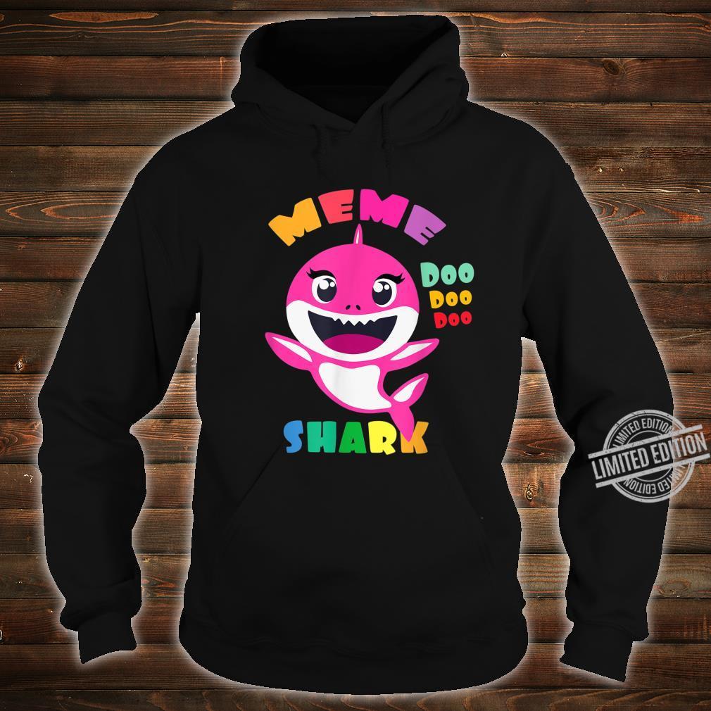 Meme Shark Shirt Mothers Day Mom Shirt hoodie