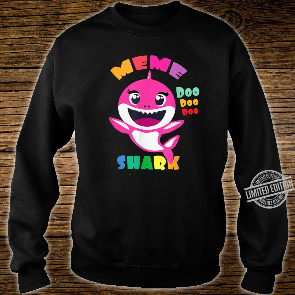 Meme Shark Shirt Mothers Day Mom Shirt sweater