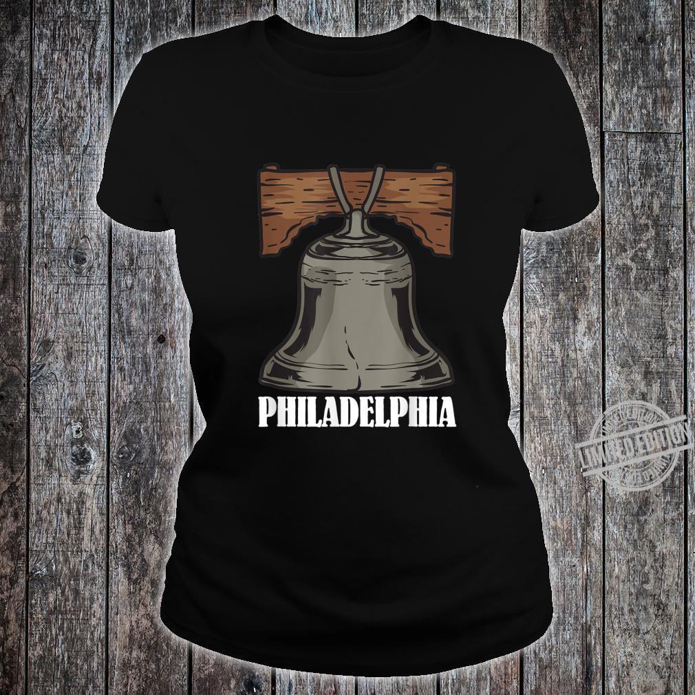 Philly Liberty Bell Eagle Philadelphia Shirt ladies tee
