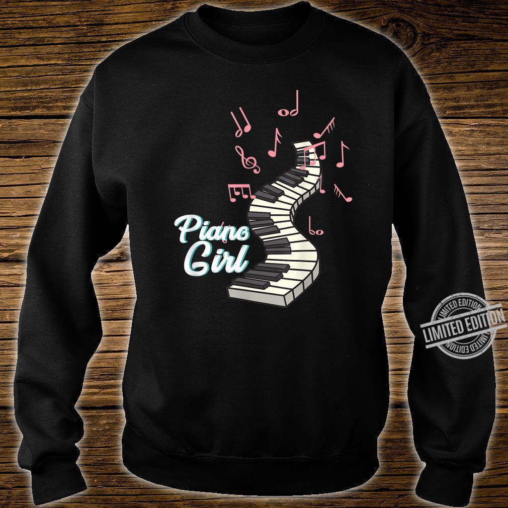 Piano Musician Girl Pink Cute Concert Hall Shirt sweater