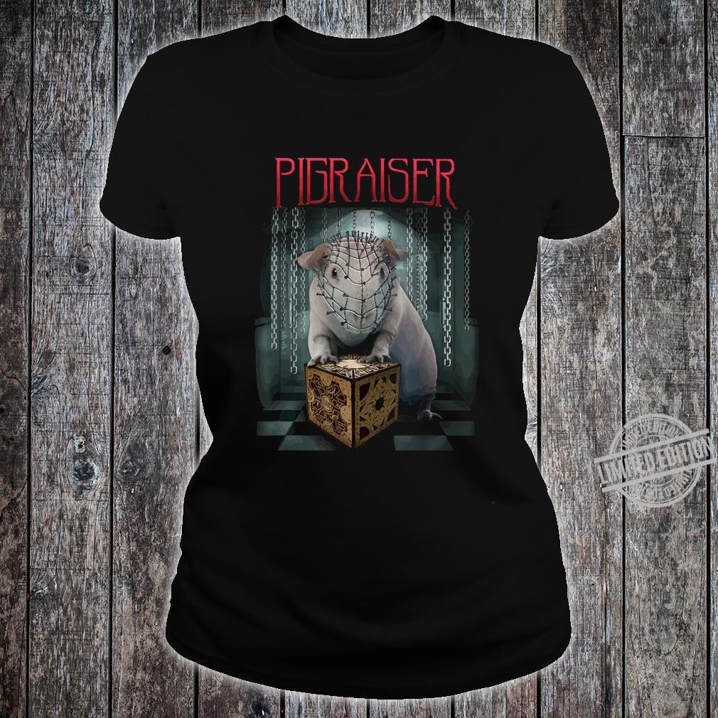 Pigraiser Wheek phantasievolles Geschenk Geschenkidee Shirt ladies tee