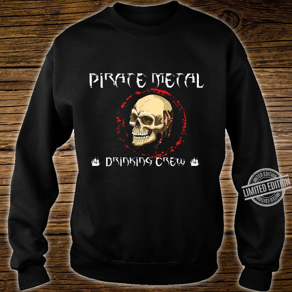 Pirate Metal Music Fan Shirt sweater