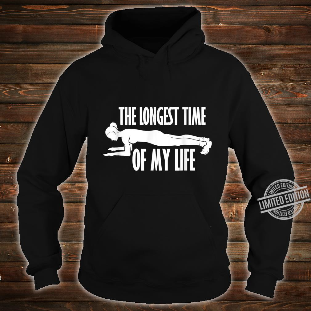 Planking Abs Workout Cardio Gym Shirt hoodie