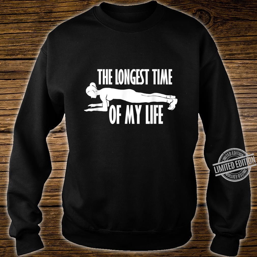 Planking Abs Workout Cardio Gym Shirt sweater