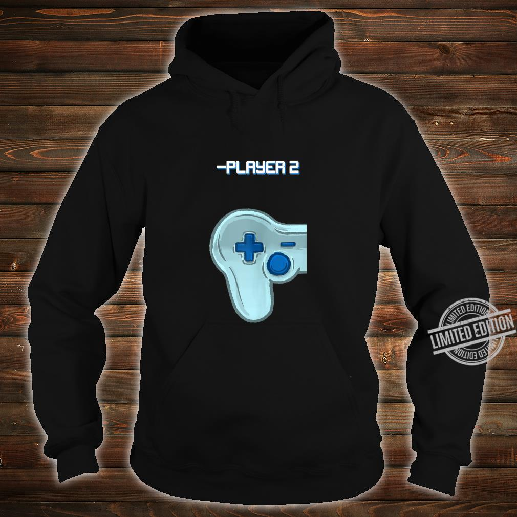 Player Two Matching Controller Video Game Best Friend Shirt hoodie