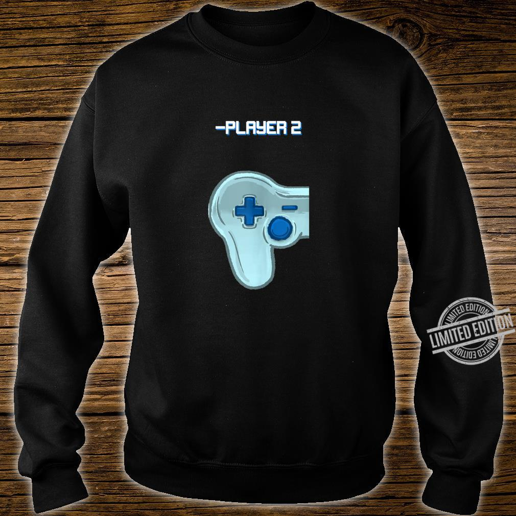 Player Two Matching Controller Video Game Best Friend Shirt sweater