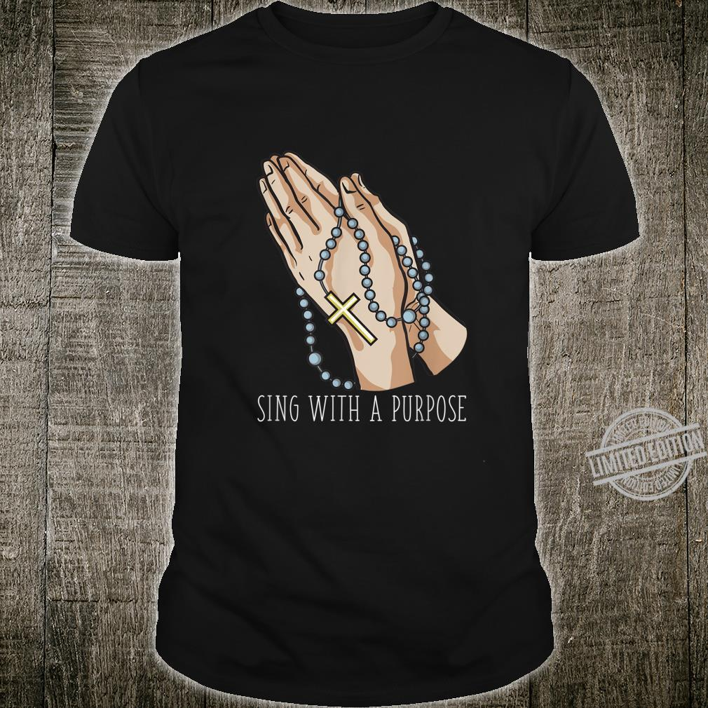 Playlist Rosary Sing with a Purpose Church Shirt