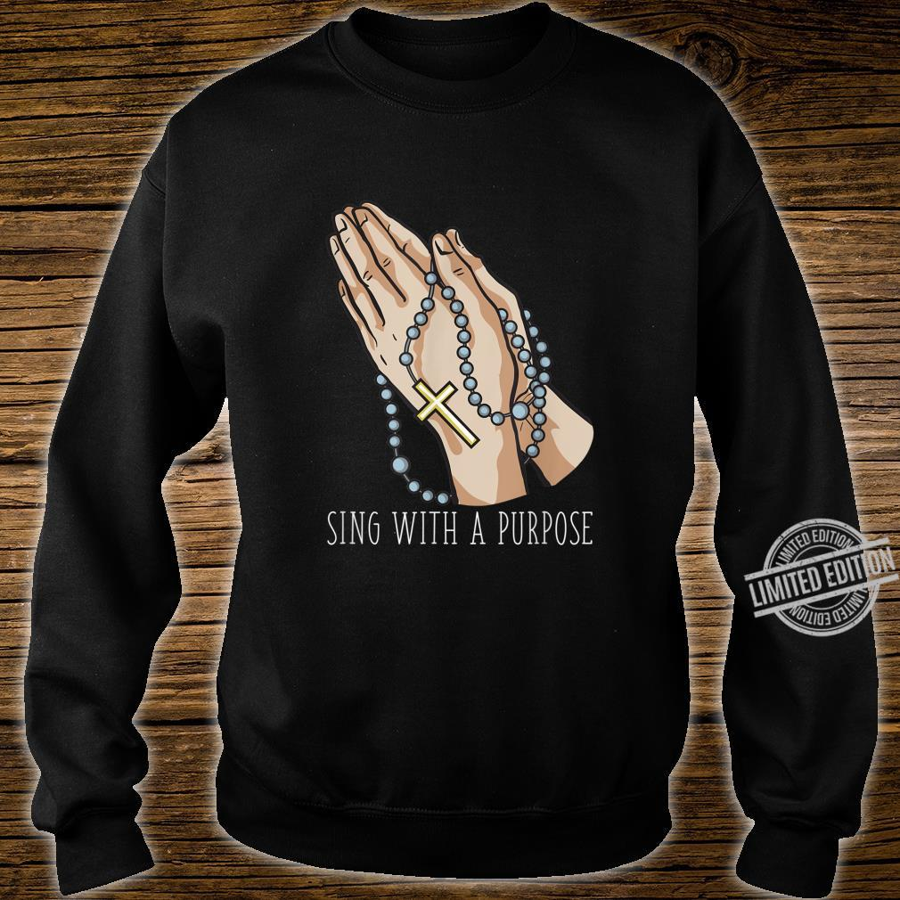 Playlist Rosary Sing with a Purpose Church Shirt sweater
