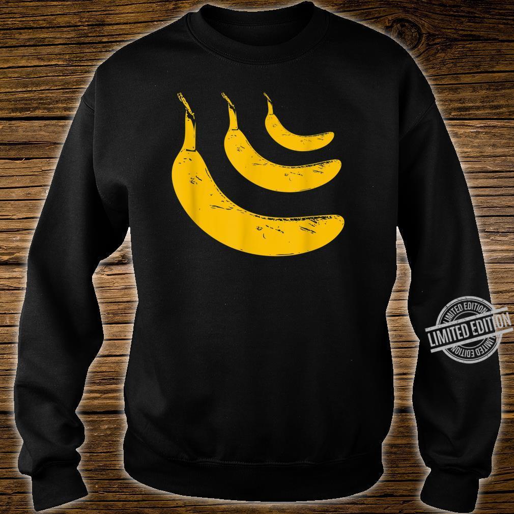 PopArt Bananen Shirt sweater