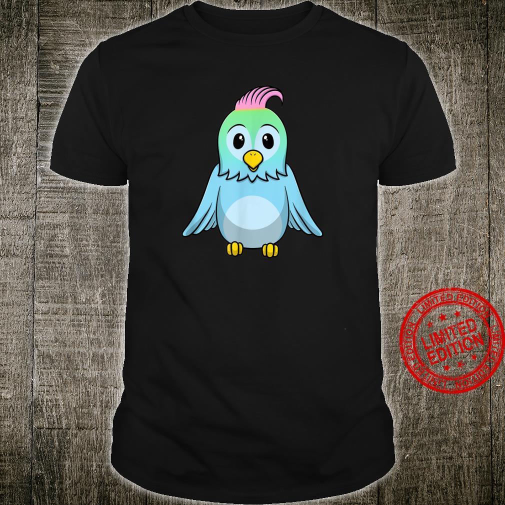 Süßer Blauer Baby Vogel Shirt