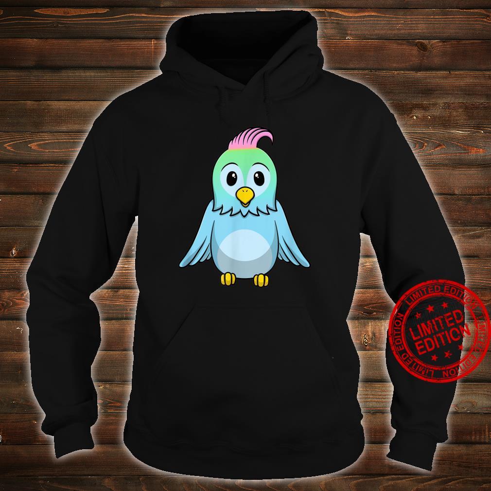 Süßer Blauer Baby Vogel Shirt hoodie