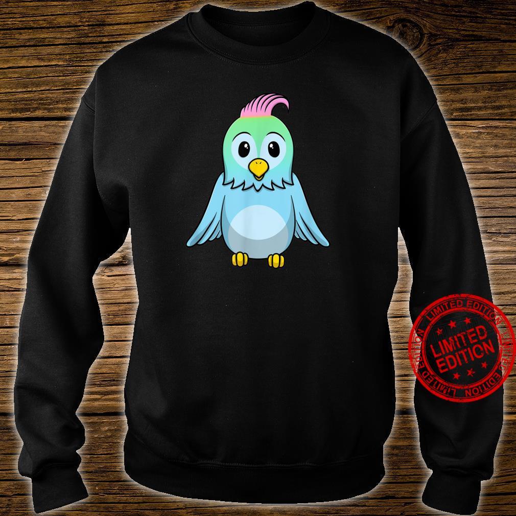 Süßer Blauer Baby Vogel Shirt sweater