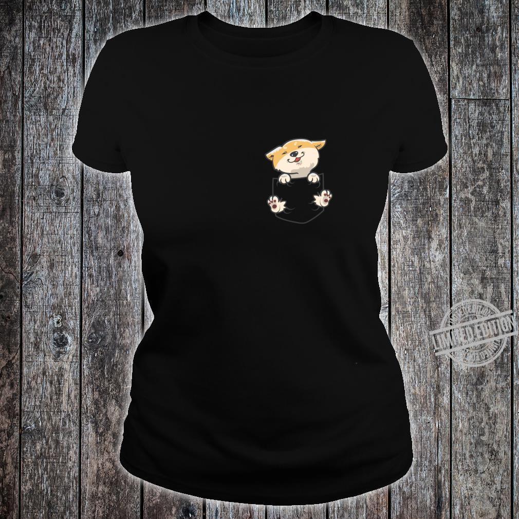 Shiba Inu Langarmshirt Shirt ladies tee
