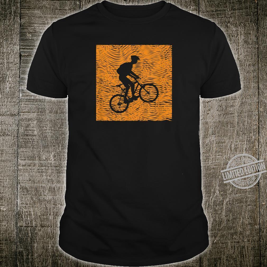 Vintage Design Mountain Bike MTB Shirt